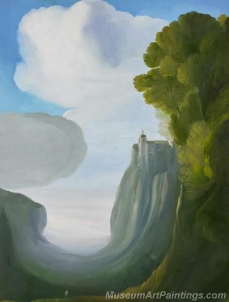 Landscape Paintings by Ubaldo Bartolini LPUB07