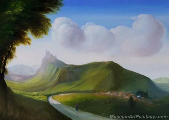 Landscape Paintings by Ubaldo Bartolini LPUB09