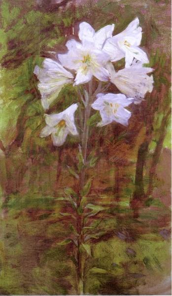 Lilies by Ellen Day Hale
