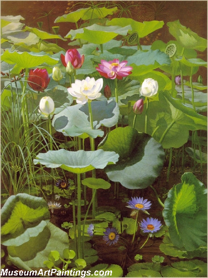 Lily Pond by Otto Didrik Ottesen