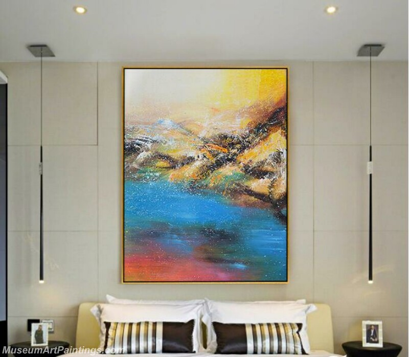 Living Room Paintings for Sale Abstract Painting A02