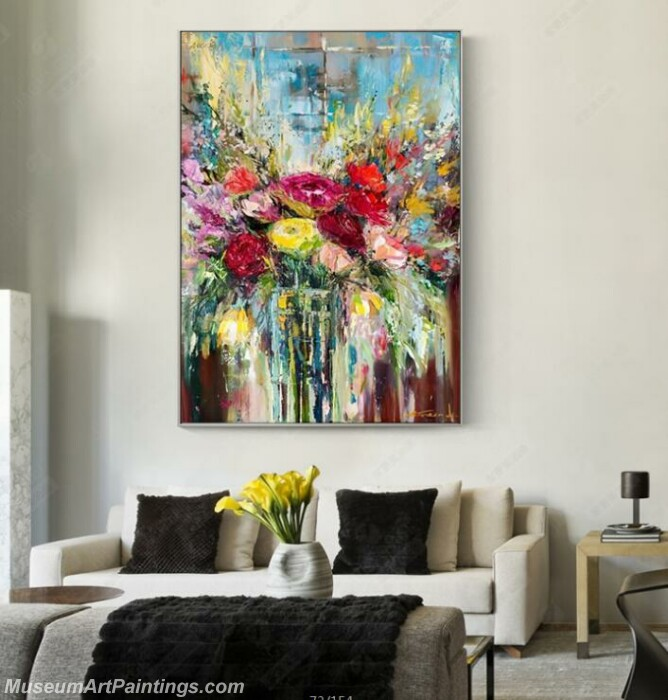 Living Room Paintings for Sale Abstract Painting B011
