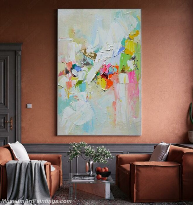 Living Room Paintings for Sale Abstract Painting B012