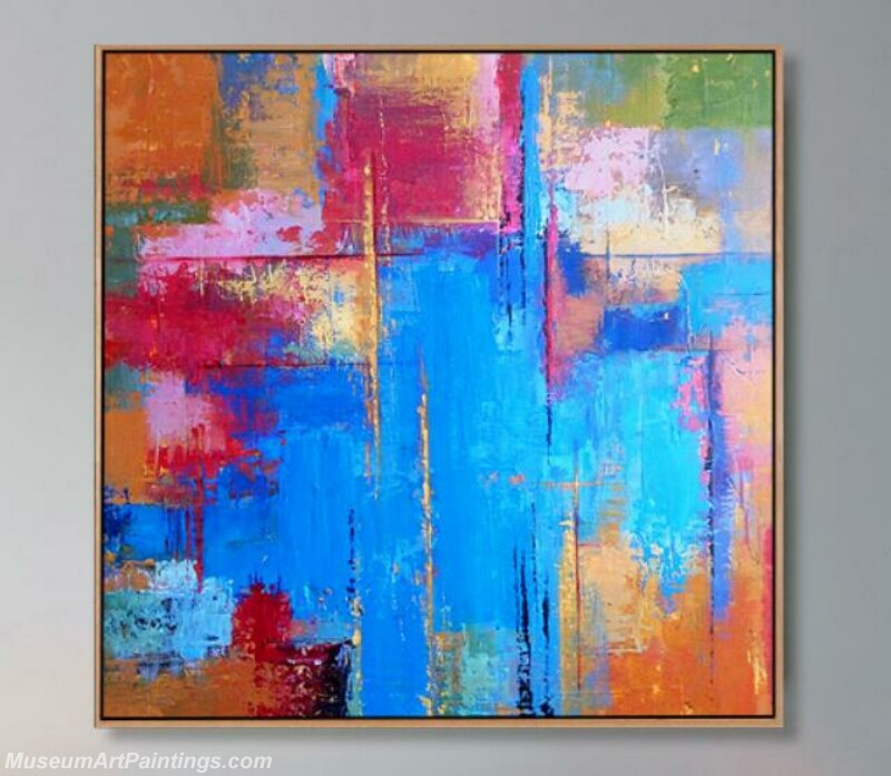 Living Room Paintings for Sale Abstract Painting B014
