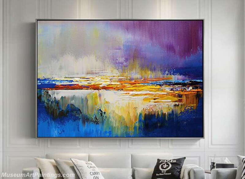 Living Room Paintings for Sale Abstract Painting B015