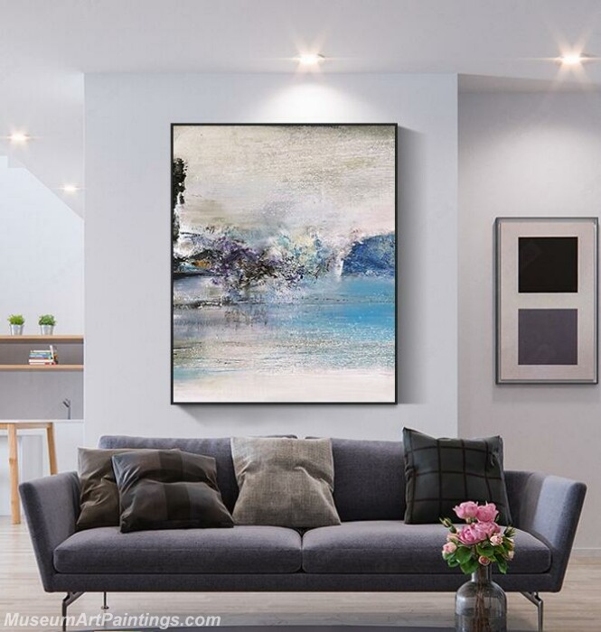 Living Room Paintings for Sale Abstract Painting B018