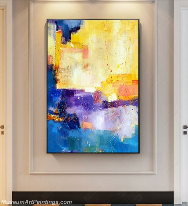 Living Room Paintings for Sale Abstract Painting B023