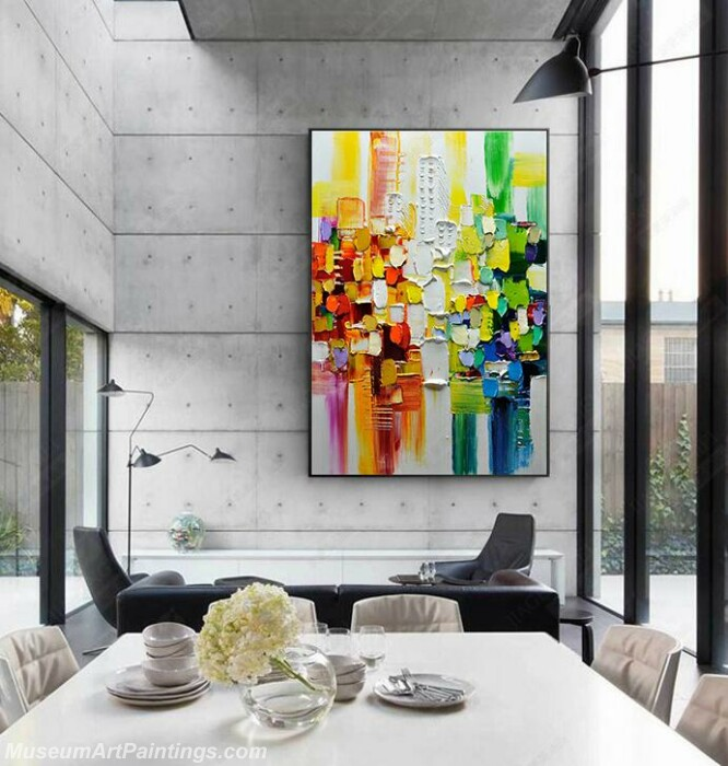 Living Room Paintings for Sale Abstract Painting B03