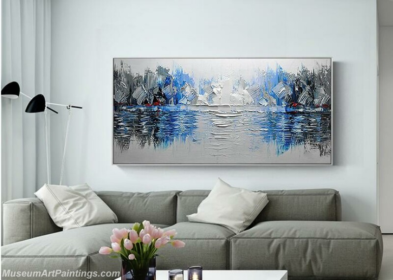 Living Room Paintings for Sale Abstract Painting B033