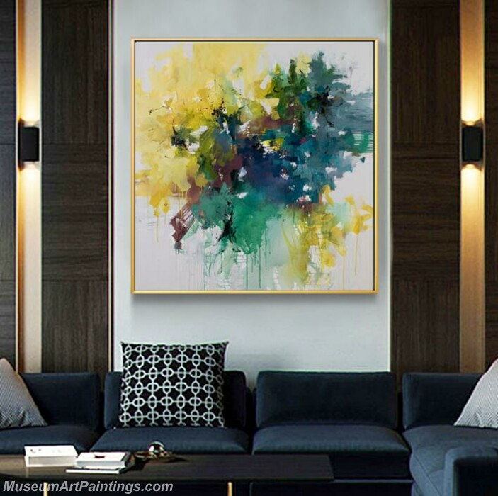 Living Room Paintings for Sale Abstract Painting B034