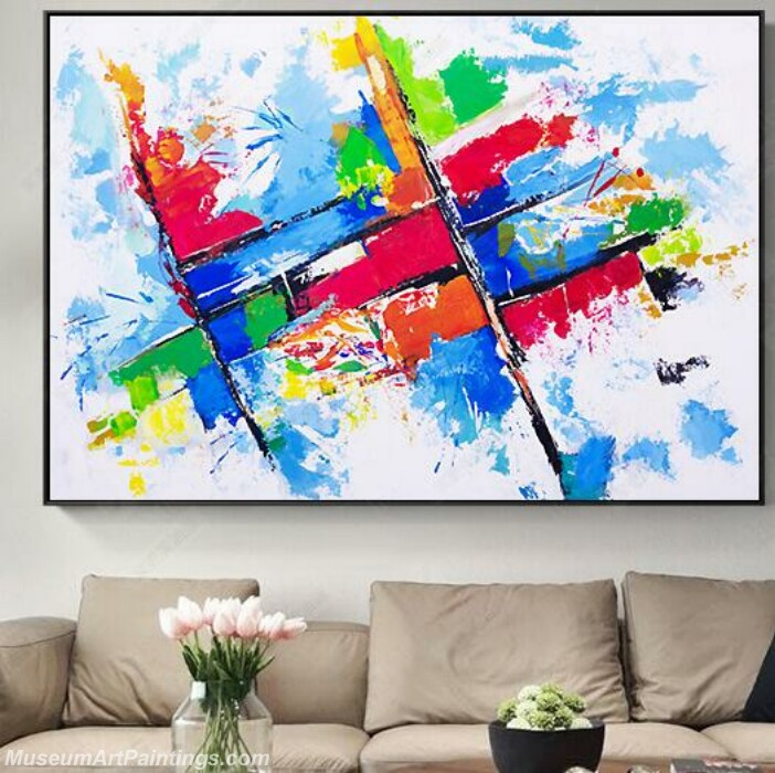 Living Room Paintings for Sale Abstract Painting B035