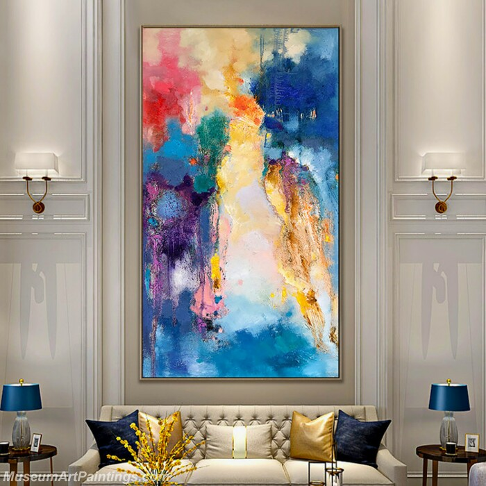 Living Room Paintings for Sale Abstract Painting B038