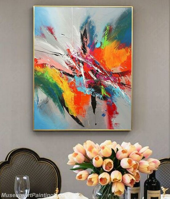 Living Room Paintings for Sale Abstract Painting B039