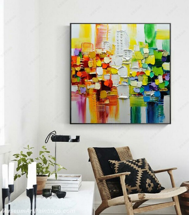 Living Room Paintings for Sale Abstract Painting B04