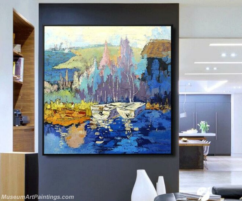 Living Room Paintings for Sale Abstract Painting B510