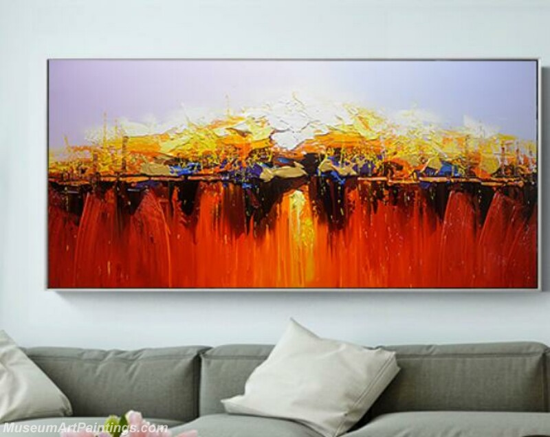 Living Room Paintings for Sale Abstract Painting B525