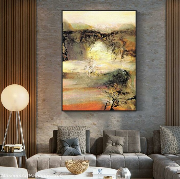 Living Room Paintings for Sale Abstract Painting B531