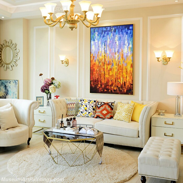Living Room Paintings for Sale Abstract Painting B532