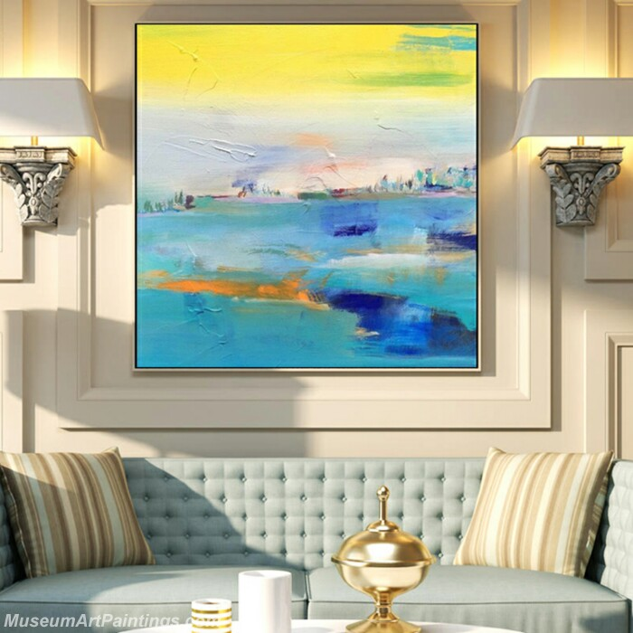 Living Room Paintings for Sale Abstract Painting B533