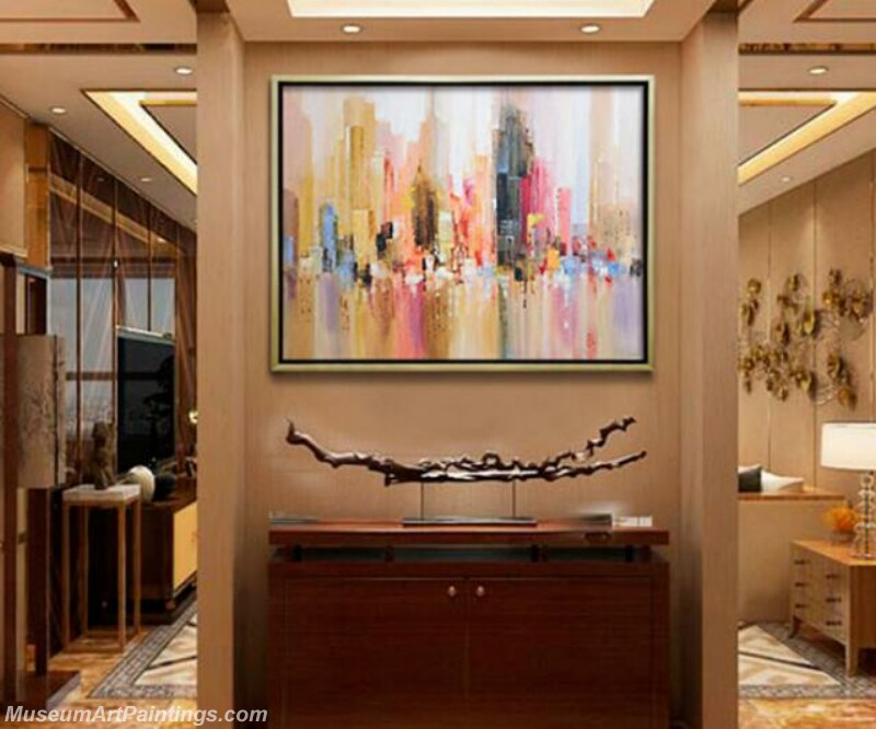 Living Room Paintings for Sale Abstract Painting B55