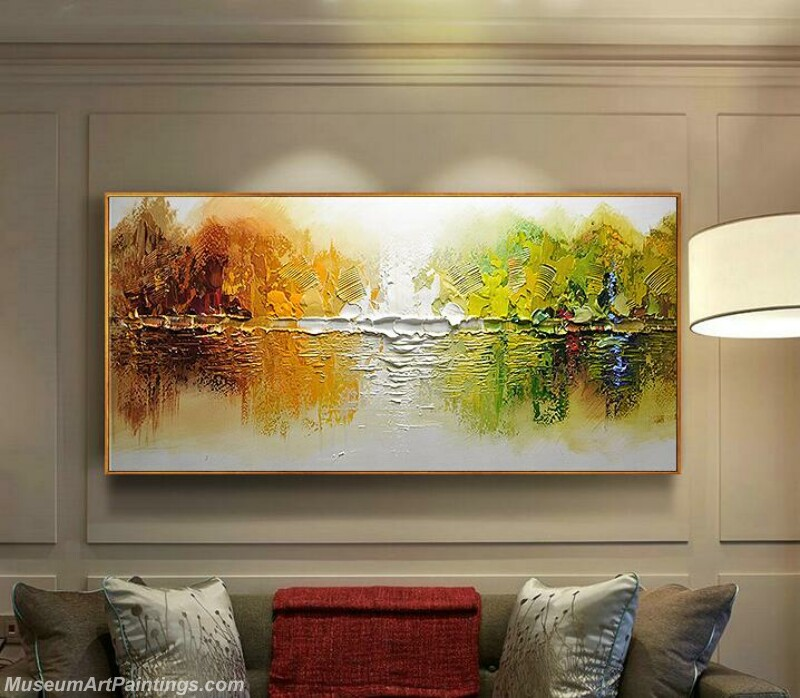 Living Room Paintings for Sale Abstract Tree Painting 01