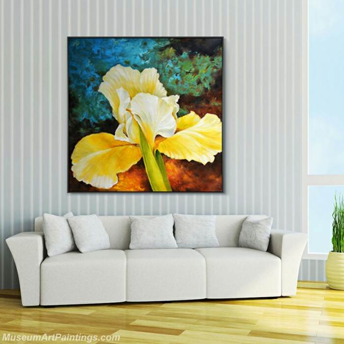 Living Room Paintings for Sale Canna indica Painting