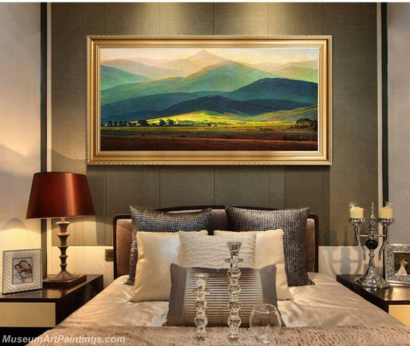 Living Room Paintings for Sale David giant mountain Painting
