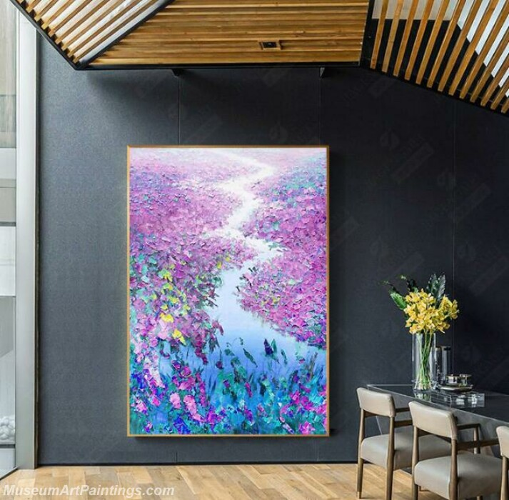 Living Room Paintings for Sale Flowers Landscape Painting