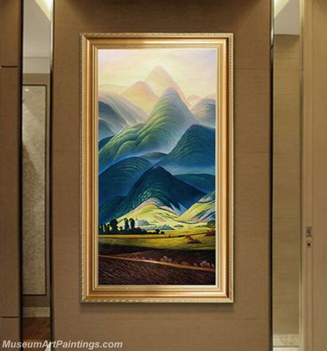 Living Room Paintings for Sale Giant Mountains Painting