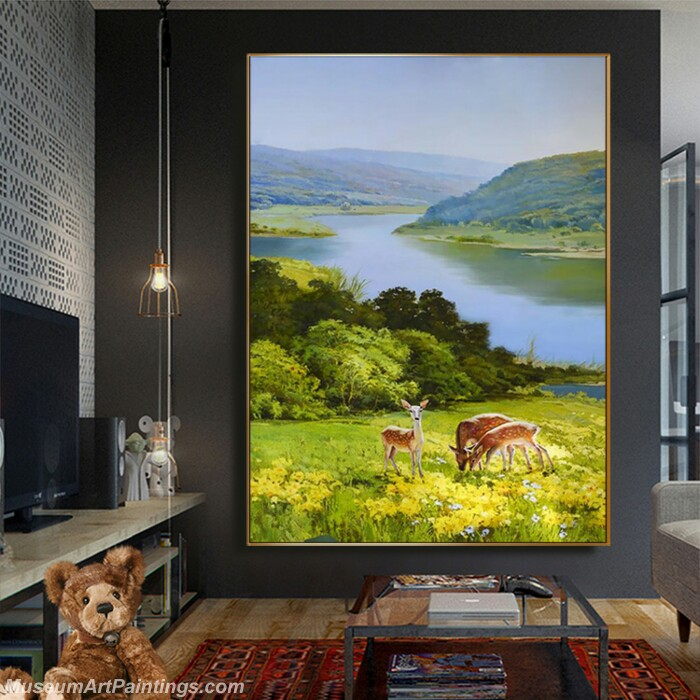 Living Room Paintings for Sale Landscape Painting