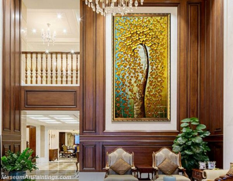 Living Room Paintings for Sale Lucky Tree Painting