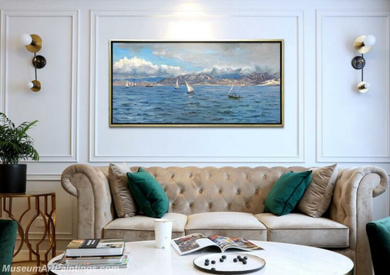 Living Room Paintings for Sale Sea Landscape Painting