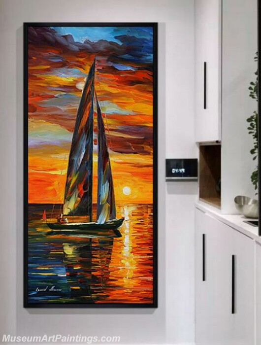 Living Room Paintings for Sale Smooth Sailing Painting