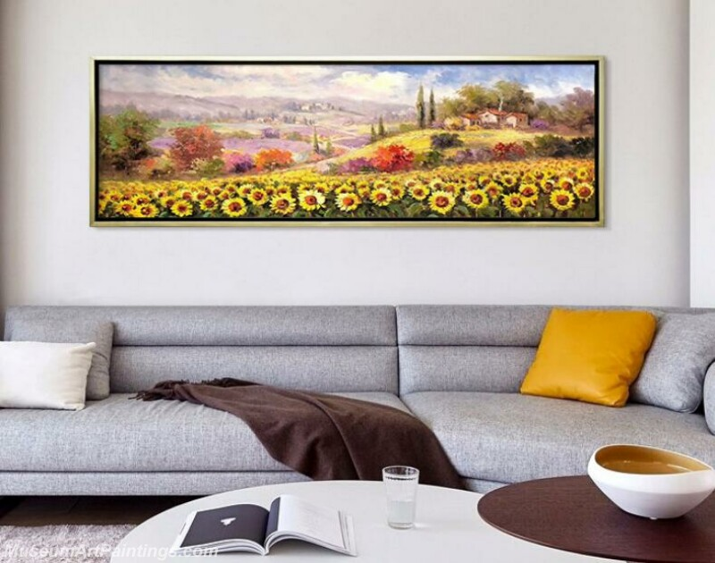 Living Room Paintings for Sale Sunflower Painting