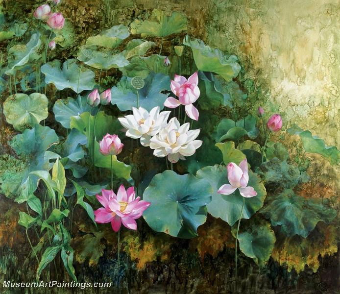 Lotus Flower Paintings 002