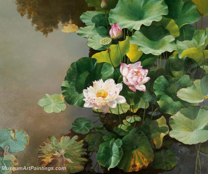 Lotus Flower Paintings 003