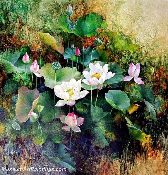 Lotus Flower Paintings 004
