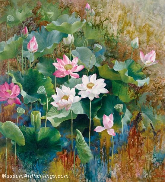 Lotus Flower Paintings 005