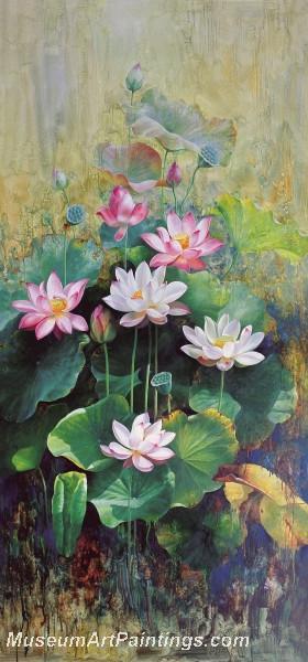 Lotus Flower Paintings 007