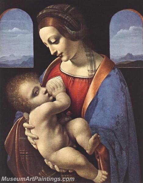 Madonna Litta Painting
