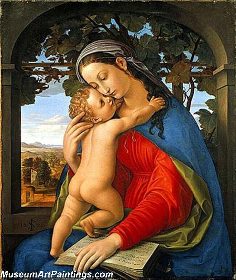 Madonna and Child by Julius Schnorr von Carolsfeld