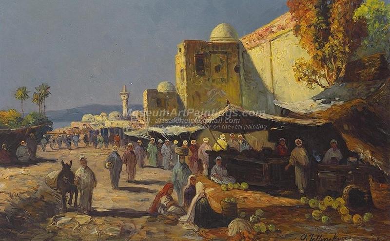 Market Scene in an Arab Town