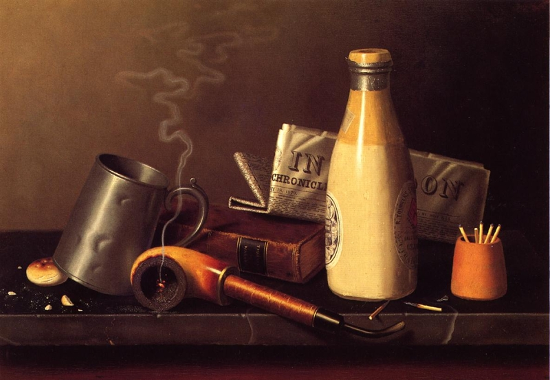 Materials for a Leisure Hour by William Michael Harnett