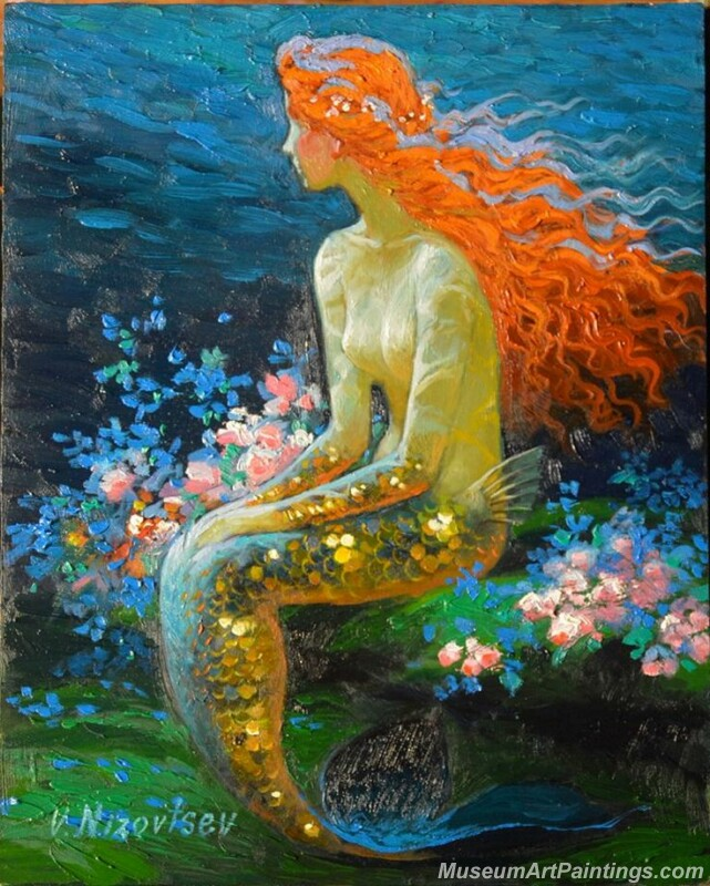 Mermaid Paintings 001