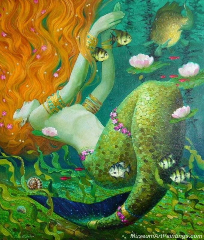 Mermaid Paintings 0014