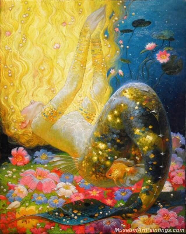 Mermaid Paintings 006