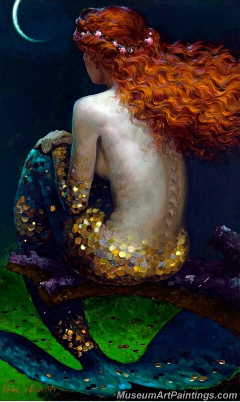 Mermaid Paintings 007