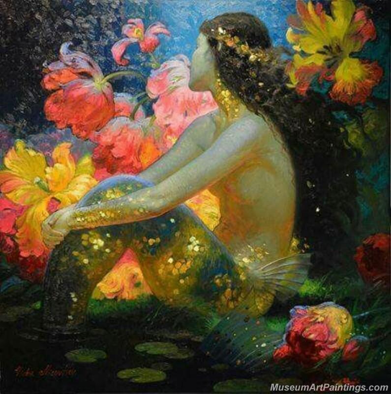 Mermaid Paintings 009