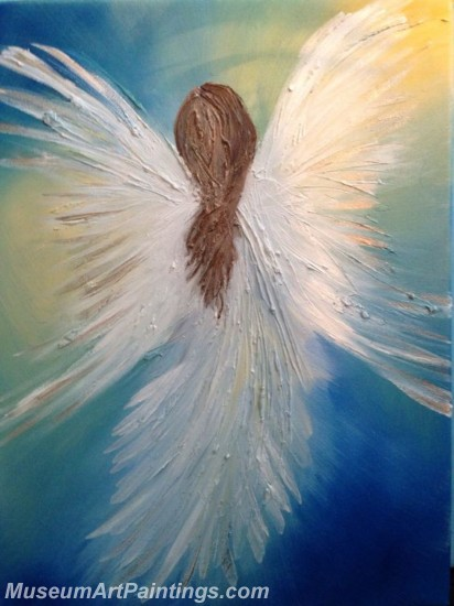 Modern Abstract Art Paintings Angel MDA03