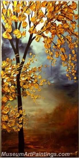 Modern Abstract Art Paintings Landscape Tree MDA035